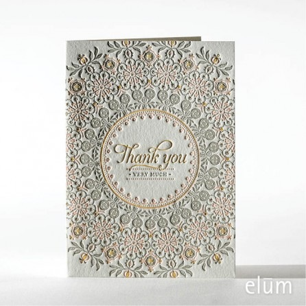 Boxed Thank You Cards - Doilee