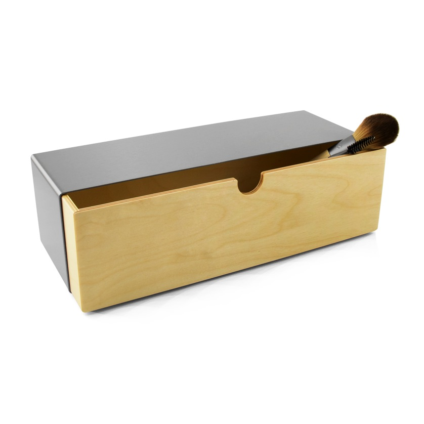 Storage Drawer Long - Stainless
