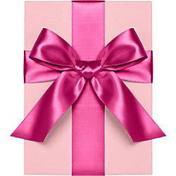 Fuchsia Satin Ribbon 1""