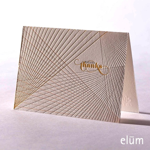 Boxed Thank You Cards - Prism