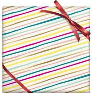 Multi-Colour Diagnal Stripes Stone Paper