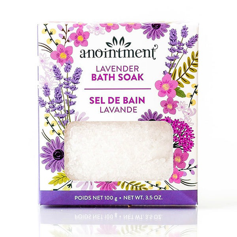 Anointment - Lavender Bubble Bath Salt