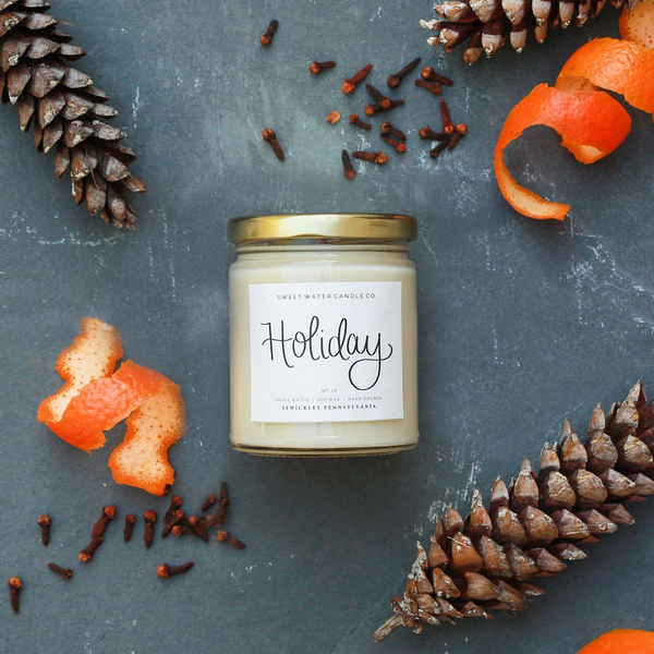 Holiday Soy Candle - 9oz