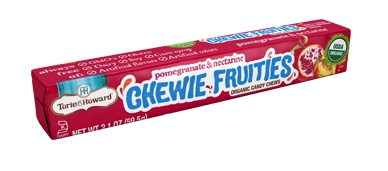 Torie & Howard  Fruit Chew Stick Packs - Pomegranate & Nectarine