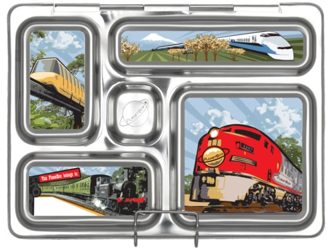 Rover Lunchbox Magnets - Trains