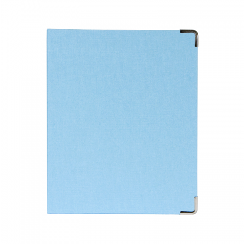 Mini Binder - Light Blue