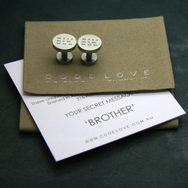 'BROTHER' Cuff Links