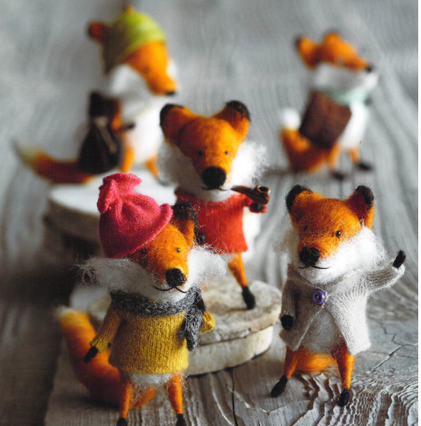 Felt Ornament - Foxy Fellow