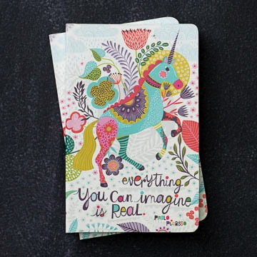 "WRITE NOW JOURNAL - ""Everything you can imagine is real"""