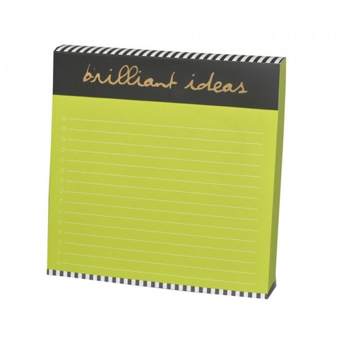 Biggie Notepad - Brilliant Ideas