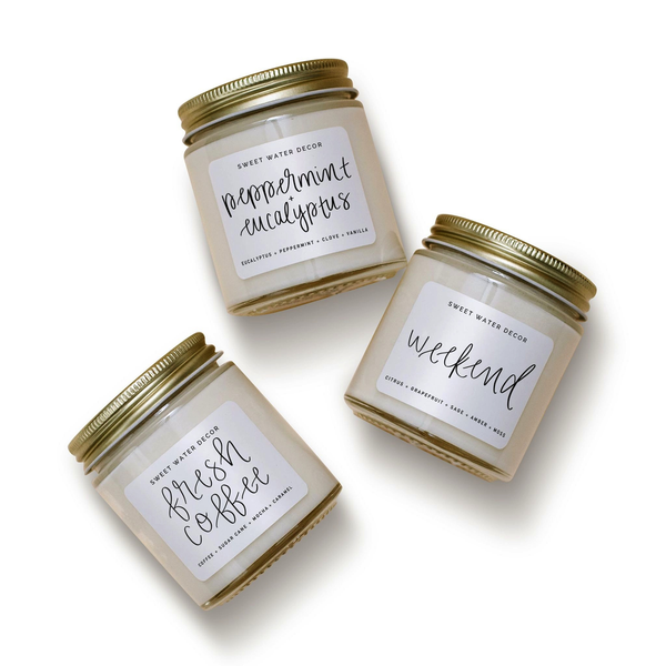 Home Mini Soy Candle Set