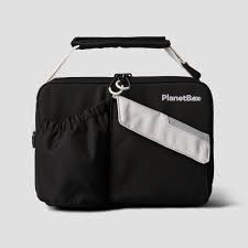 Planet Box Carry Lunch Bag - Black Current