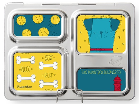 Launch Lunchbox Magnets - Dogs