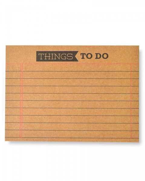 'Things To Do' Sticky Notes