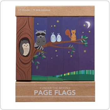 Under The Moon - Page Flags