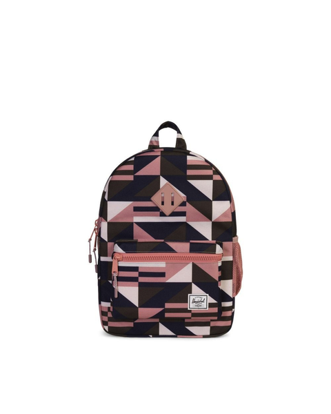 Heritage Backpack | Youth - Frontier Geo/Ash Rose