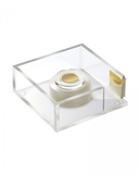 ACRYLIC TAPE DISPENSER WEIGHTED