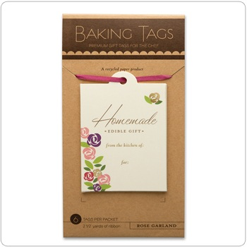 Baking Tags - Rose Garland