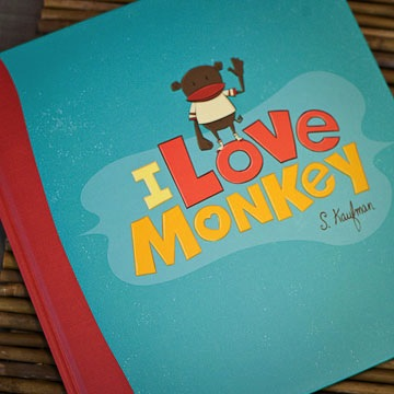I Love Monkey - Gift Book