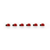 Ladybug Magnets - Set of 6