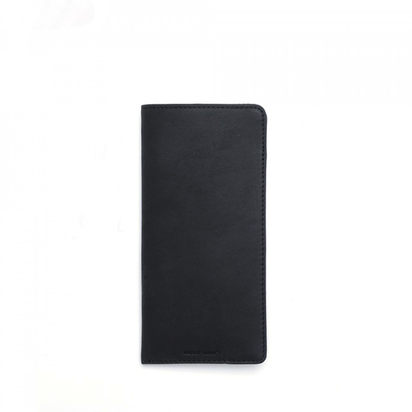 Leather Eye Glass Case - black