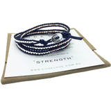 """Strength"" 3 Wrap Bracelet"
