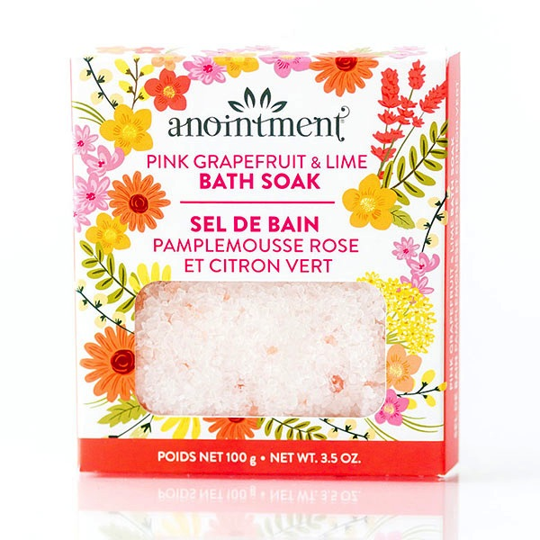 Bath Salts - Pink Grapefruit & Lime