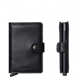 Mini Wallet - Vintage Black