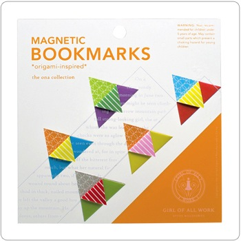 Magnetic Origami Bookmarks