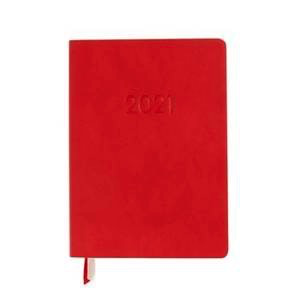 2021 Chicago Ave-Red Medium WEEKLY Planner