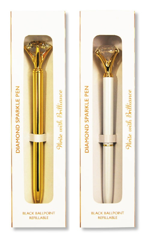 Gold Diamond Sparkle Pen