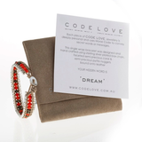 'DREAM' Chain Single Wrap Bracelet