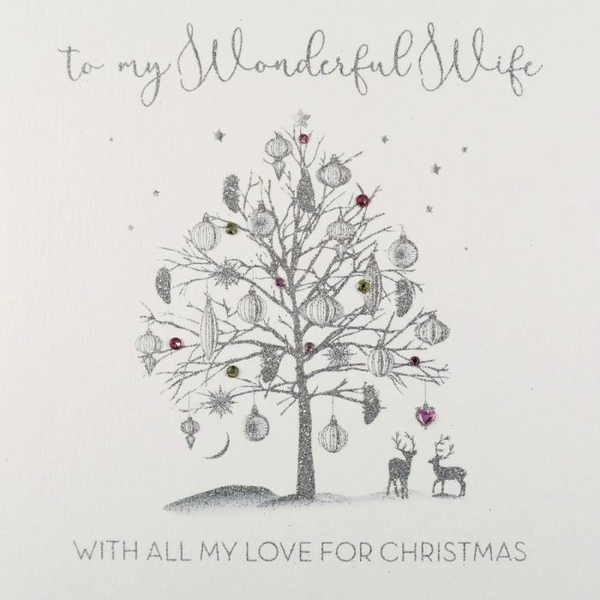 ICED SILVER - To My Wonderful Wife (Tree)