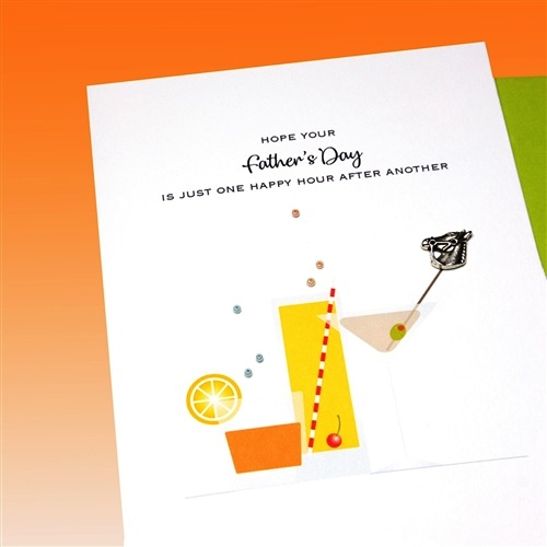 Father's Day Card - Drinks