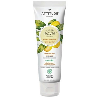 Attitude Super Leaves Natural Body Cream Regenerating
