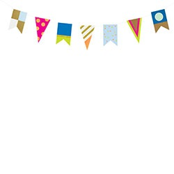 Party Flag Garland Kit