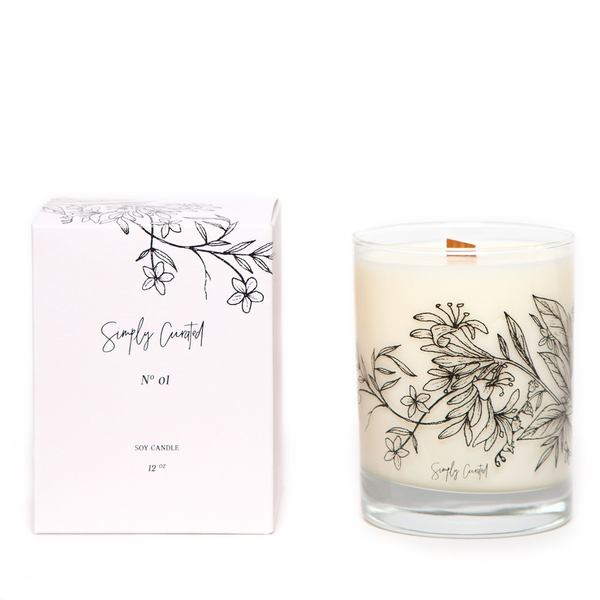 Botanical Collection Candle - No. 01