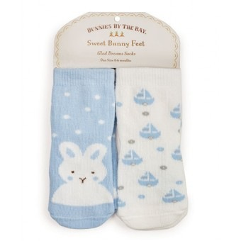 Best Friends Socks - 2 pair - 0-6 mo