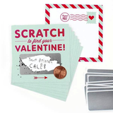 Scratch-off Valentines - Mint