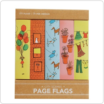 City Scenes - Page Flags