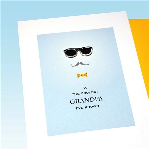 Father's Day Card - Coolest Grandpa