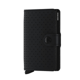 MINI Wallet - perforated black