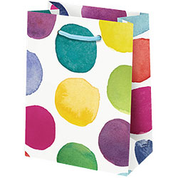 Watercolor Dots Small Bag