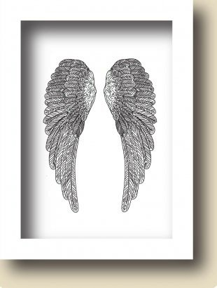Art Prints | Angel Wings (A4)
