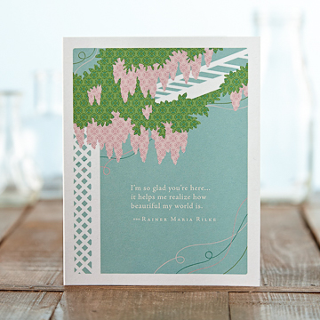 PG Card - I'm so glad you're here...