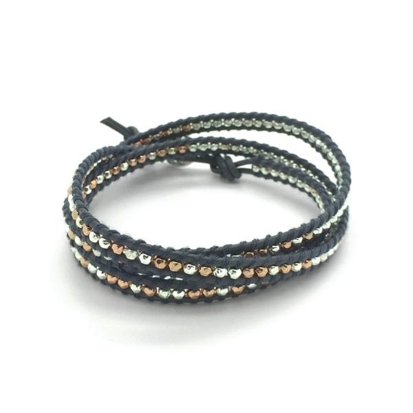 'FRIEND' 3 Wrap Bracelet