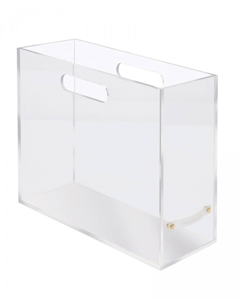 Acrylic File Box - Slim