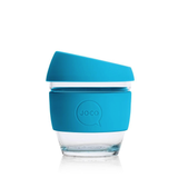 Reusable Glass Cup - Blue 8oz