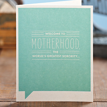 Frank & Funny: Welcome to motherhood, the world's greatest sorority...