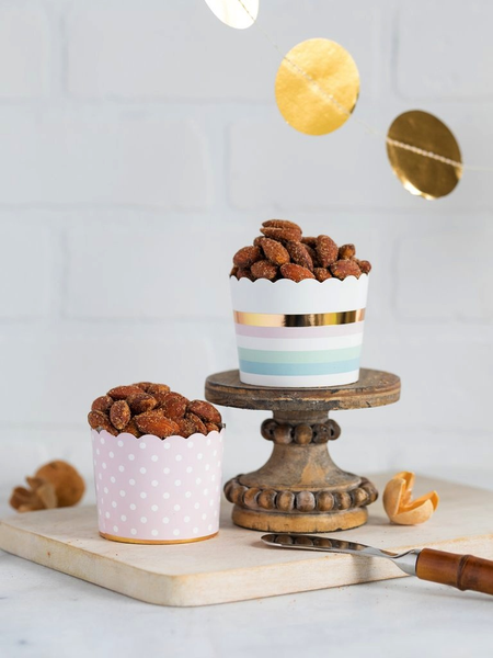 Pastel Foiled Baking Cups